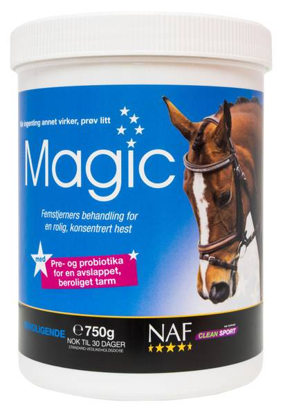 Bilde av NAF Magic powder 750g